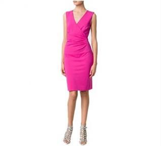 Women's Pink Wrap Dresses
