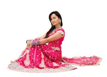 Dress with Ghagra