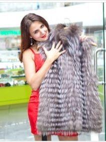 Women's Coat with Fur
