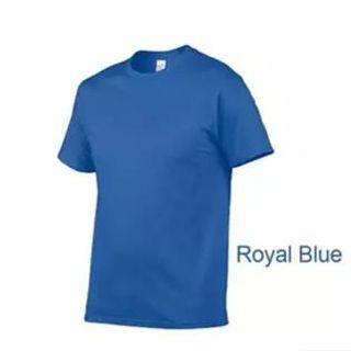 Men's Plain Round Neck T-shirt