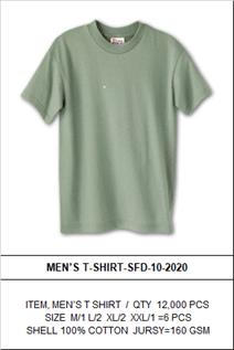 Men's Cotton Jersey Tee