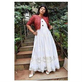 Katha Chanderi Cotton Kurtis