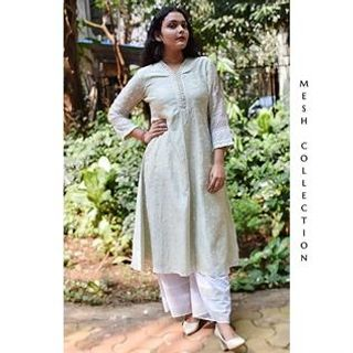 Ladies Pure Cotton Kurtis