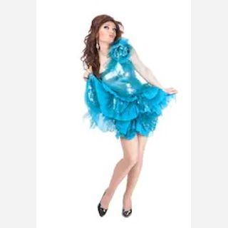 Ruffled Mini Dresses