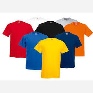 Men's Cotton Plain T-shirt