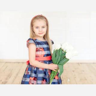 Kids Floral Frock