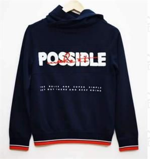 Cotton Polyester Blended Hoodies