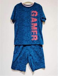 BCI Cotton Single Jersey T-shirt & Shorts Set