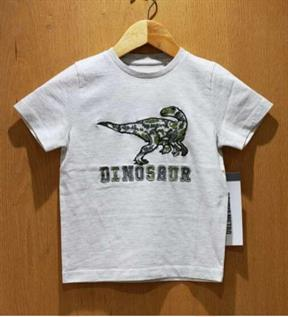 Kid's Single Jersey Grey Melange Fashion T-shirt