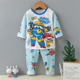 Kid's Printed Pajama Set