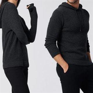 Women's Smoke Cashmere Sweater
