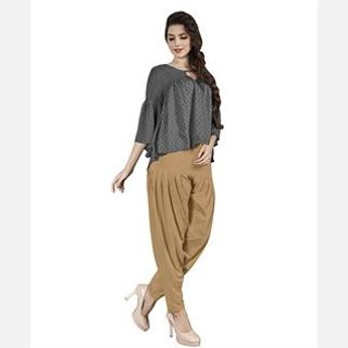Cotton Spandex Knitted Patiala
