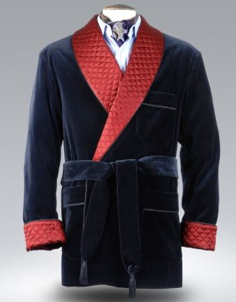 Quilted Smoking Jackets