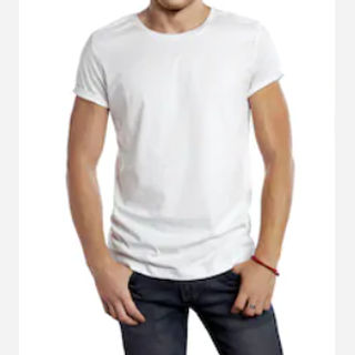 Woven Cotton T-shirt