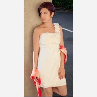 One Shoulder Short Dresses