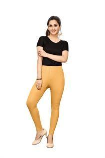 Golden Shimmer Stretchable Leggings