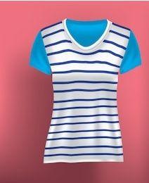 Women's v neck T-shirts