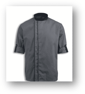 Chef Jacket with Interchangeable Sleeves