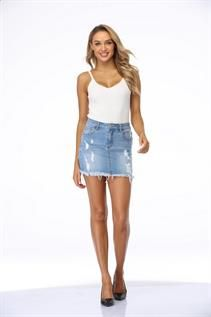 Women's Denim Skirts