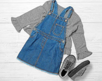 Kid's Wear Dungarees