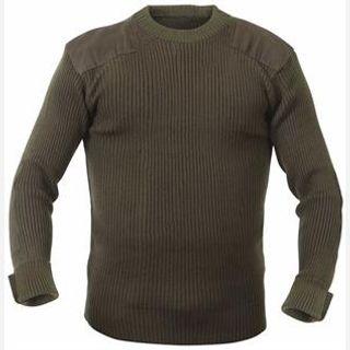 Men's Half Sleeves Military Sweaters