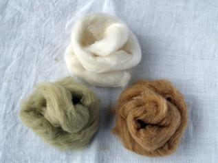 Greige/Dyed, 29-31mm, 3.5-4.9 Denier, For yarn spinning