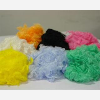 Dyed, Staple, Textile