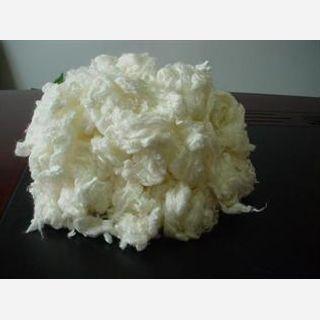 Raw White, Staple, For Making Spun Yarn