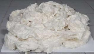Greige, 20 - 22 mm, 3 - 4 microns, Medicated absorbent cotton