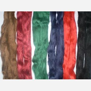Dyed, Staple, For yarn spinning