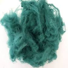 Dyed, Staple, For spinning of yarns