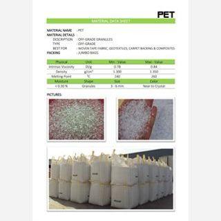 For Fibre, 180-240°C, Off grade chips / Lumps, 80, 0.72–0.98 dl/g