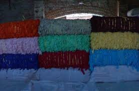 Dyed, -, -, For recycle yarn