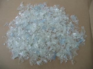 Manufacture of polyester staple fibre, > 250 C, Flakes form, -