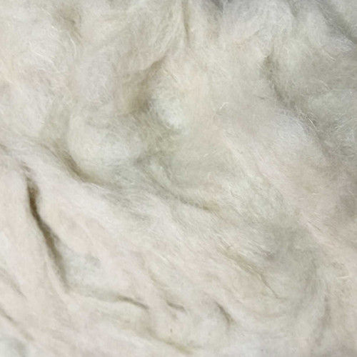 Raw White Linen Fibre
