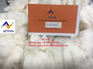 Natural Cotton Comber Noil