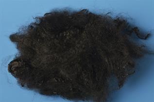 Black Polyester Staple Fibre