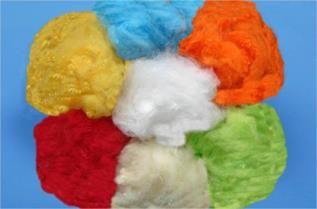 Colored Polyester Staple Fibre