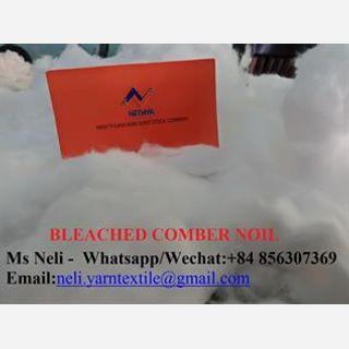 Bleached Cotton Comber Noil