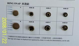 Metal Button for gament, From 7mm to 30mm, Zinc Alloy, Brass