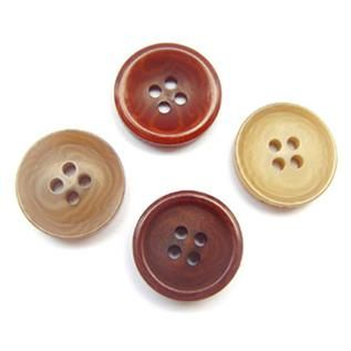 For Shirts look like pair buttons, 14, 16 & 18, Polyester