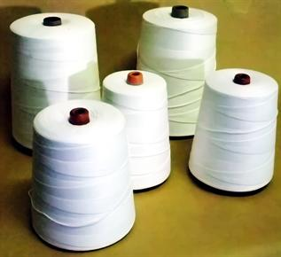 For garment industry, 42x2D, Spun Polyester
