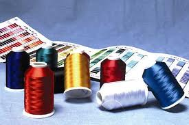 For Embroidery on Garments, Count - 40/2, Polyester