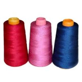 For garment industry, 20, 30, 40, 50 in 2 Ply, 20, 30, 50 in 3 Ply, 20 in 4 Ply, 100% Polyester