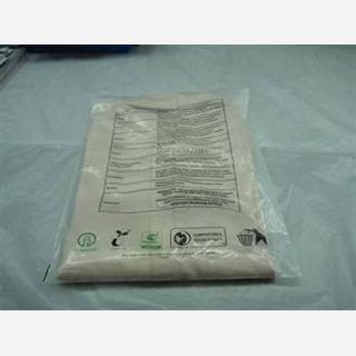Polybag for garment and apparel packaging