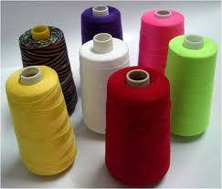 100% Spun Polyester, 40s/2, 20s/2, 100% Spun Polyester