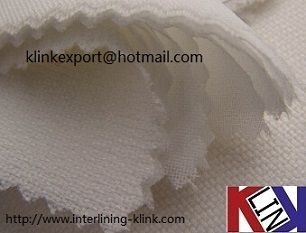 For garment industry, 90/150 cm width, 100% Polyester Woven 2+2 base cloth