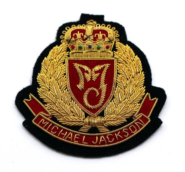 Embroidered Bullion Wire Badges