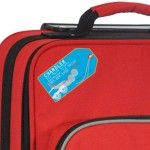 """For Bags, Luggage, 4"""" x 2"""" , Long lasting adhesive and the most durable waterproof laminate"""