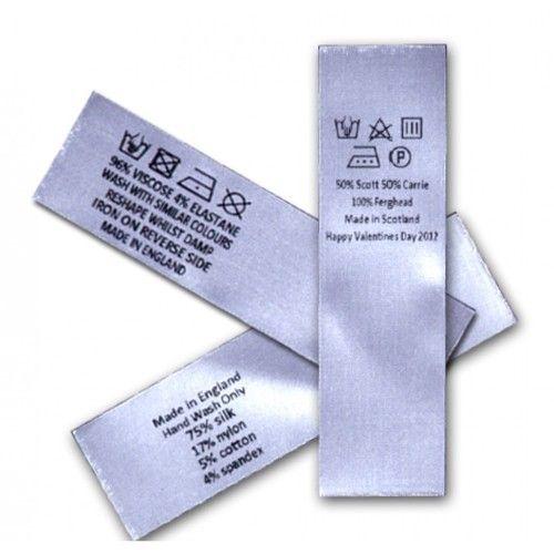Wovenedge Labels